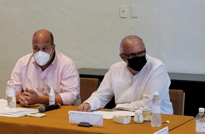 Pedirá Navarro Quintero a AMLO recursos para cubrir la nómina