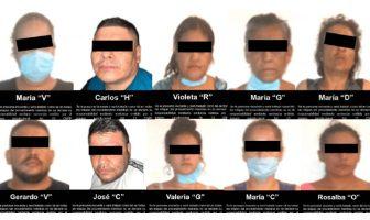 Vinculan a proceso a 10 presuntos integrantes de cártel que operaban en Vallarta