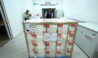 Jalisco recibió 338 mil vacunas Sinovac