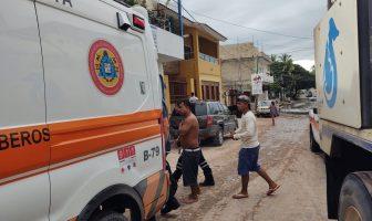 Trabajador de Seapal casi pierde la vida sepultado