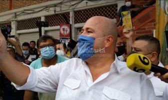 Promete Alfaro apoyo económico en 15 días para comerciantes de Vallarta