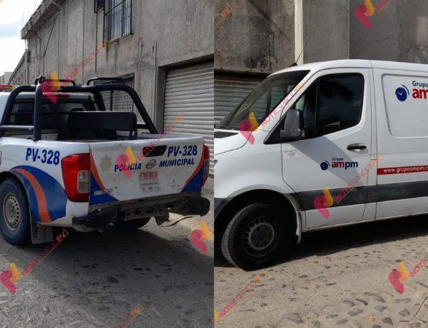 Robó con violencia a repartidor de paquetería en Jarretaeras