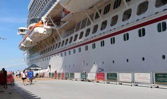 Puerto Vallarta vuelve a tener inicio de semana con cruceros y turistas