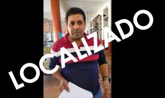 Ya se comunicó Fernando Peña, se encuentra sano