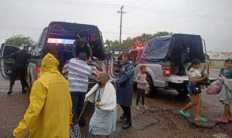 Causa estragos 'Pamela' en Sinaloa; aún no se cuantifican los daños