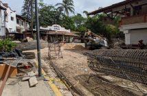 Va en tiempo, reconstrucción del puente que cruza el Río Cuale